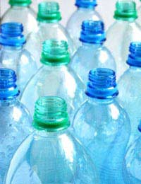 Recycling Plastic Plastic Water Bottles